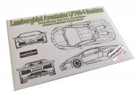 1:24 Lamborghini Aventador LP700-4 Photoetch Detail-Up Set for Aoshima