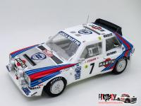1:24 Lancia Delta S4 - Ver.A :1986 WRC Rd.1 Monte Carlo Rally - Full Detail Multi-Media Kit