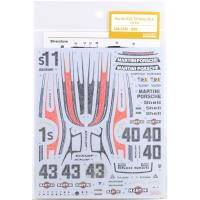 1:24 Martini Porsche 935 Turbo Moby Dick 1978 Decals for Tamiya