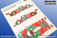 1:24 Mazda 787B Charge/Reown #55 Le Mans 1991 Decals (Tamiya)
