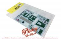 1:24 McLaren F1-GTR Harrods #9 Le Mans 1995 (Short Tail) Decals (Fujimi)