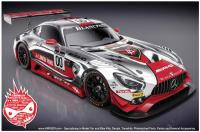 1:24 Mercedes-AMG GT3  Linkin Park Decals for Tamiya