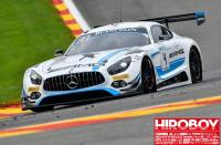 1:24 Mercedes-AMG GT3 Team Black Falcon #4 24 Hours of Spa 2017 Decals