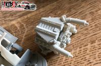1:24 Mercedes AMG GT3 Door and Engine Detail Kit
