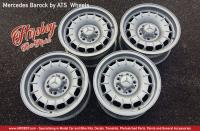 "1:24 Mercedes Barock by ATS 15"" Wheels with Stance Tyres"