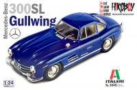 1:24 Mercedes Benz 300SL Gullwing