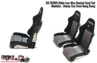 1:24 Bride Low Max Bucket Seat (Resin/Decal/PE Upgrade)