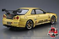 "1:24 Nissan Skyline R34 GT-R ""Top Secret"" Version"