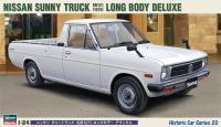 1:24 Nissan Sunny Truck Long Bed Deluxe 1979
