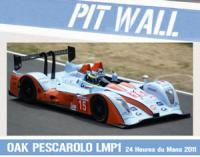 1:24 Oak Pescarolo LMP1 2011 Gulf Decals - For Simil'r Kit 151105