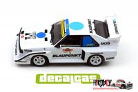 1:24 Audi Quattro Sport S1 - The Race of the Champions Decals