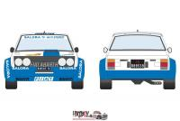 1:24 Fiat 131 Abarth Fiat Rally / ASA - 1000 Lakes Finland Rally 1980 Decals
