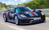1:24 Porsche 918 Spyder Weissach Sport (Martini Racing Design)