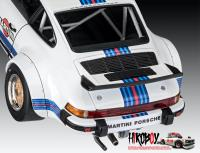 "1:24 Porsche 934 RSR ""Martini"" Race Car Model Kit"