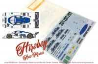 1:24 Mazda 767B 1989 LM Finish Line Decals (for Hasegawa kits)