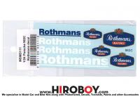 1:24 Porsche 962C Rothmans Decal (Revell)