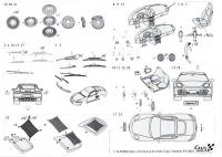 1:24 Porsche Cayman S Photoetched Set (Fujimi)