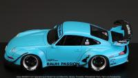"1:24 RWB Porsche 993 Widebody Kit For Ver. ""Rauh Passion""  (Resin+PE+Decals+Metal parts)"