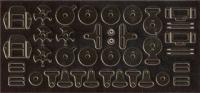 1:24 Racing Harness Photoetched Set #8124