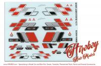 1:24 Ralliart Logo Decals (Mitsubishi)
