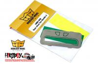 1:24 Sun Visor for Beetle 2 (Photoetched)
