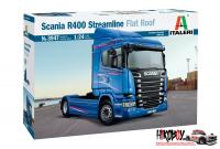 1:24 Scania R400 Streamline Flat Roof - Italeri 3947 Model Kit