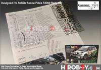 1:24 Skoda Fabia S2000 Photoetched Detail up Set (Belkits)