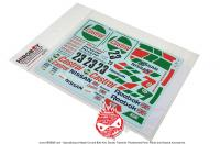 1:24 Skyline GT-R 1990 Decals (Macau Race Winner)