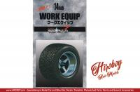 "1:24 Work Equip 14"" Wheels and Tyres"