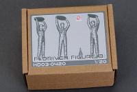 1:20 F1 Driver Resin Figure