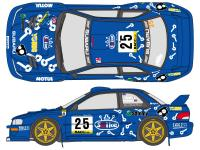 1:24 Subaru Impreza Arai Spike Decals (for Tamiya kit #24227)