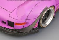 "1:24 RWB Porsche 993 Widebody Kit For Ver.""Akira Nakai"" Rotana (Resin+PE+Decals+Metal parts)"