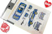 1:24 Subaru Legacy 555 1993 Rally New Zealand/Tour De Corse Decals for Hasegawa
