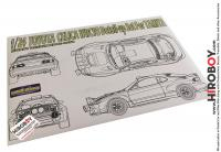 1:24 Toyota Celica WRC '93 Photoetch Detail-Up Set for Tamiya