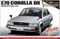 1:24 Toyota Corolla E70 Sedan Early Version