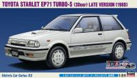 1:24 Toyota Starlet EP71 Turbo-S '3-Door' Late Version
