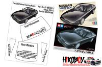 1:24 Nissan 180SX Pre Cut Window Painting Masks (Tamiya)