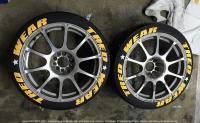 "1:24 Tyre Letter Stencils For 16""-17"" (Various Brands)"