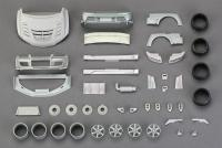 1:24 Varis Mitsubishi EVO IX Wide Body Kit  (Resin+PE+Decals+Metal parts)(HD03-0383)
