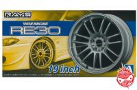 1:24 Volk Racing RE30 19inch Wheel and Tyres #80