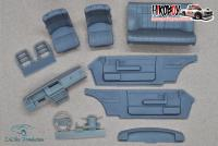 1:24 Volvo 240 Turbo Road Car Interior for Beemax/Nunu