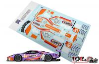 1:24 Wynn's/Keatings #85 Ford GT Le Mans Decals