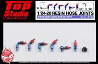 1:24 / 1:20 Resin Hose Joints (0.9mm)