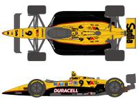 "1:20 Dick Simon Duracell Mobil1 Sadia"" Lola T93/00 Ford Decals (for Tamiya kit #20041)"