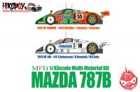 1:43 Mazda 787B Ver.B : 1991 LM 24hours #18 S.Johansson / D.Kennedy / M.S.Sala