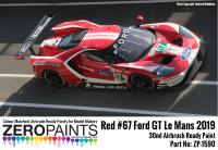 #67 Ford GT Le Mans Red Paint 30ml
