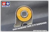 6mm Masking Tape c/w Dispenser - 87030