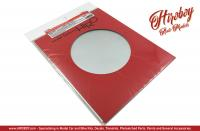 Circular Brushed Pattern (Small) - Adhesive Aluminium Sheet - P1090