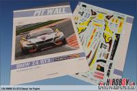 BMW Z4 GT3 Marc VDS 24Hours of Spa 2011 Decals (Fujimi)