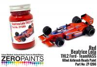 Beatrice-Lola THL2 Ford THL2 Red Paint 60ml